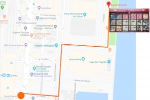 D'Bacalhau - walking route