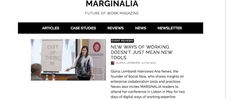 Interview with Ana Neves published on Marginalia (2017.01.27)