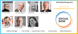 Knowledge Management superstars at Social Now 2017