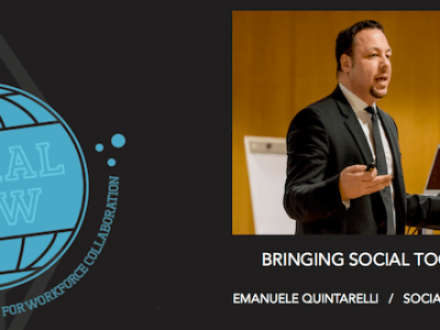 Emanuele Quintarelli talks of social tools at Social Now 2016