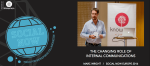 The Changing Role of Internal Communications - Marc Wright