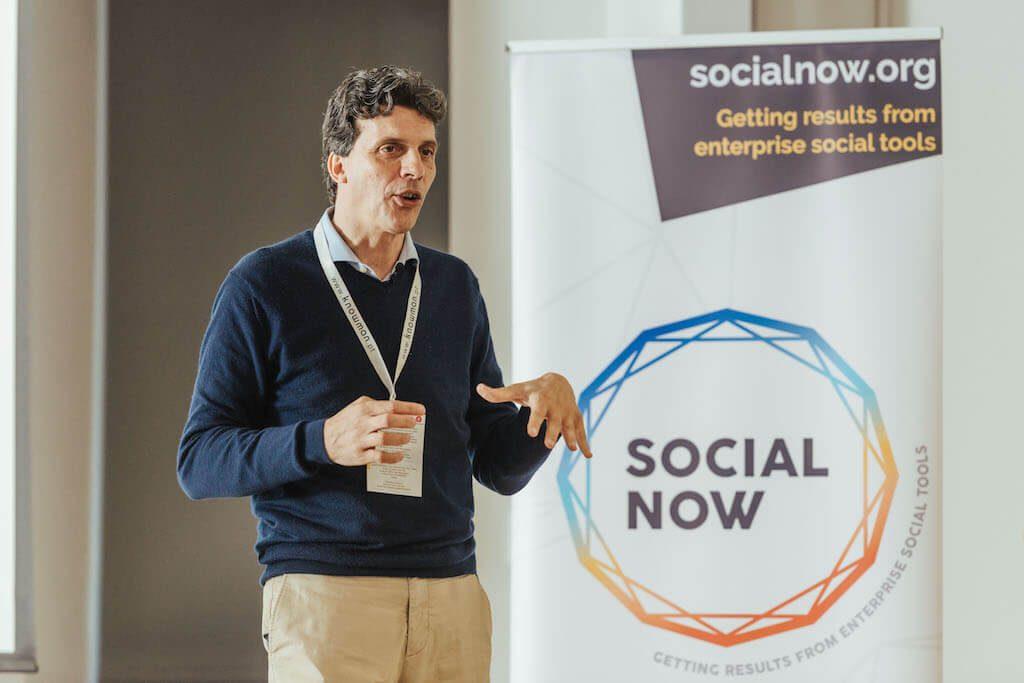 Nadim Habib at Social Now 2018