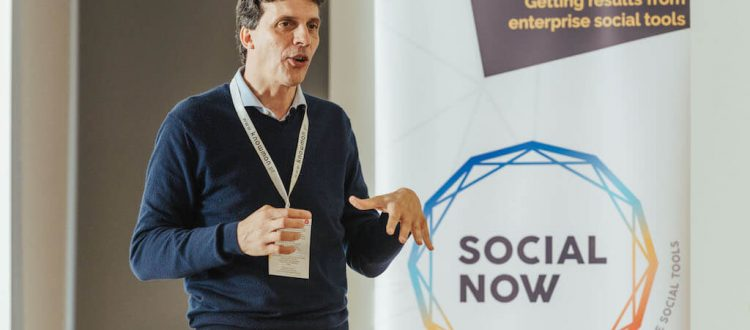 Nadim Habib at Social Now 2018