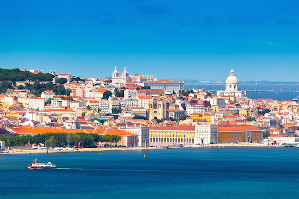Lisbon from the water