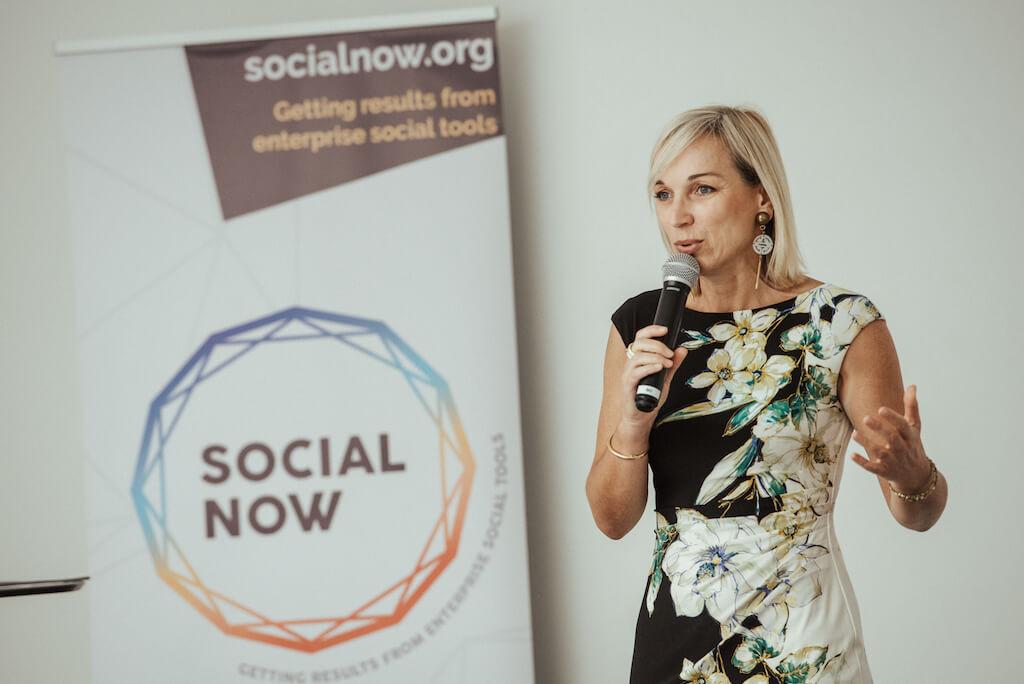 Céline Schillinger at Social Now 2019