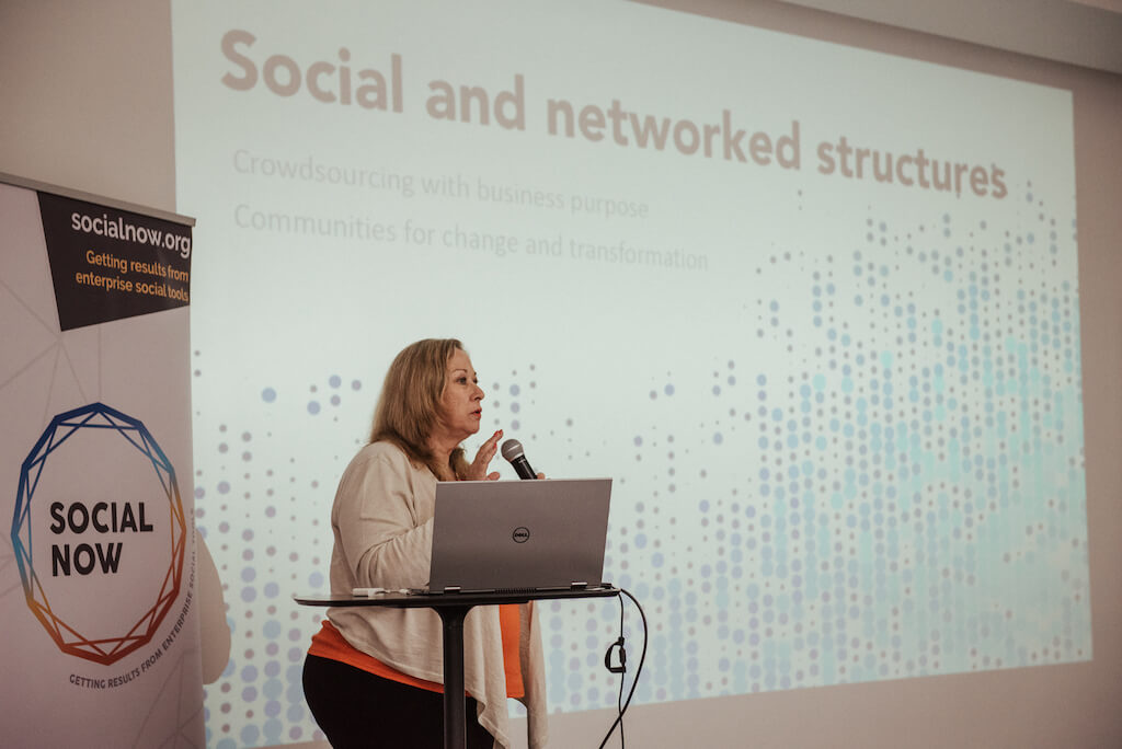 Catherine Shinners at Social Now 2019