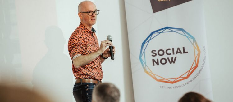 Social Now 2019 - Phil Kropp on stage