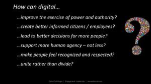Céline Schillinger's slide at Social Now 2019