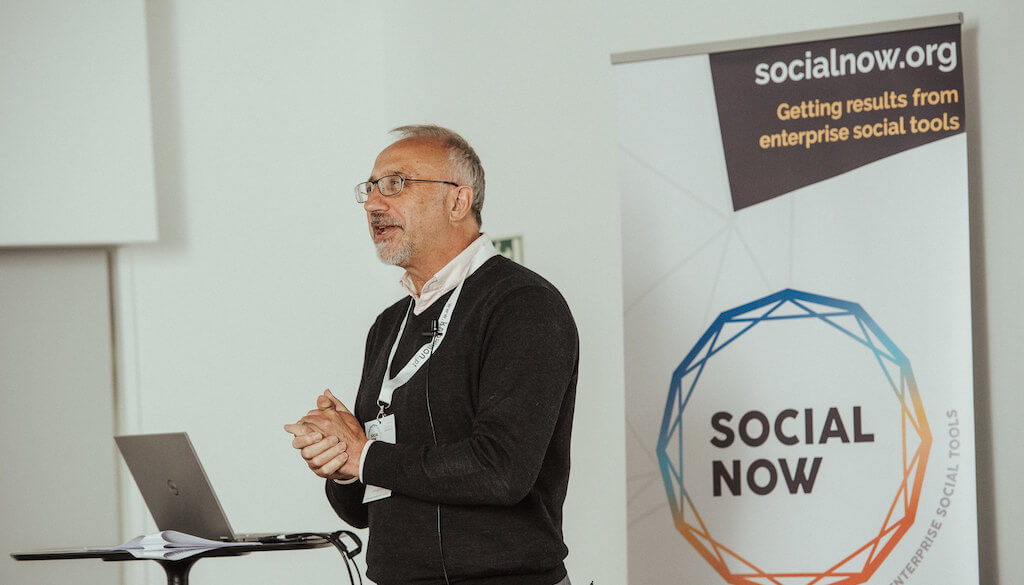 Social Now 2019 - Paul Corney on stage